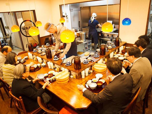kerja untuk mendapatkan hidangan mirai shokudo restoran kedai makan
