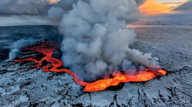 kerjaya ahli vulkanologi gunung berapi meletus