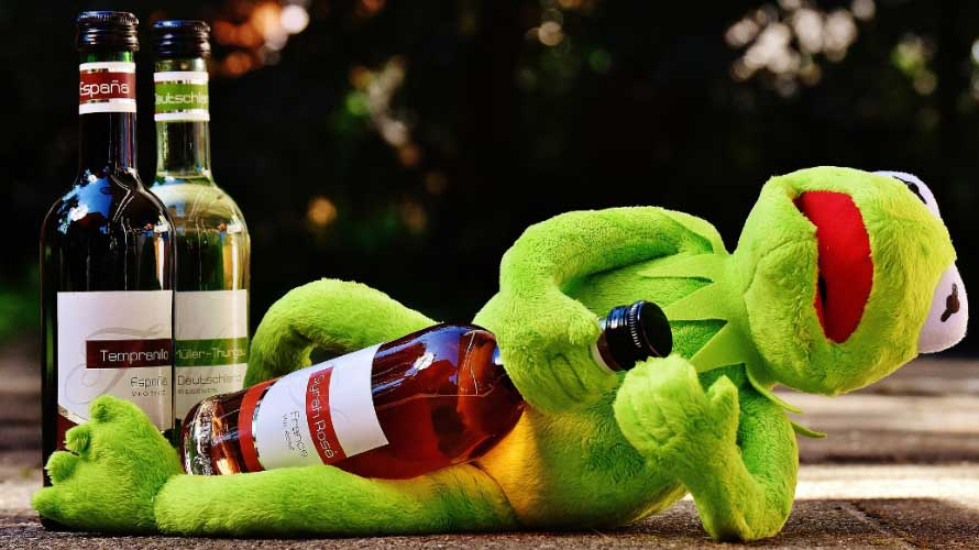 kermit the frog tengah blackout