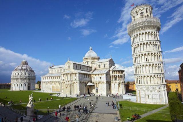 kerujuteraan seni bina menara pisa