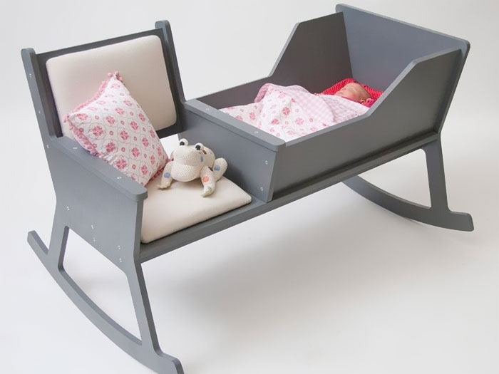 kerusi hayun dan katil bayi