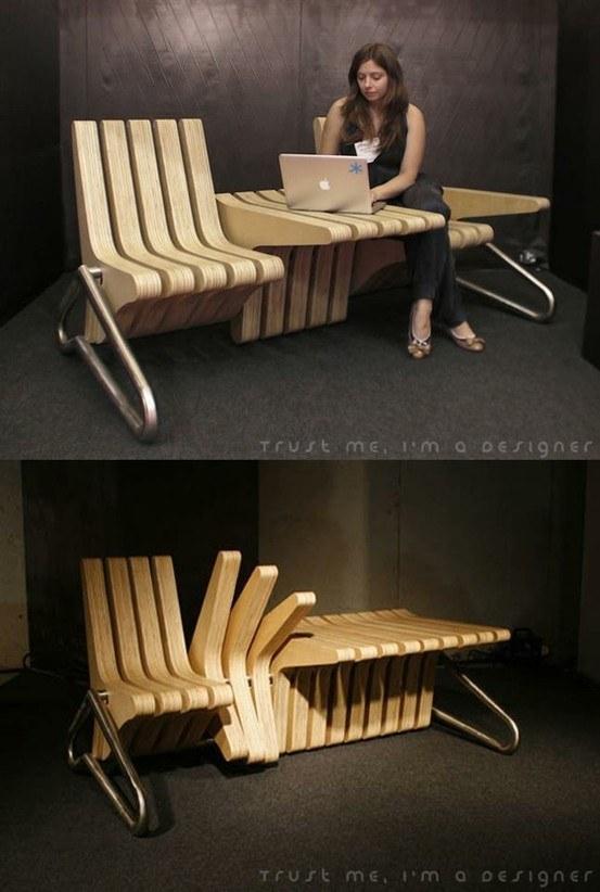 kerusi moden boleh ubah bentuk