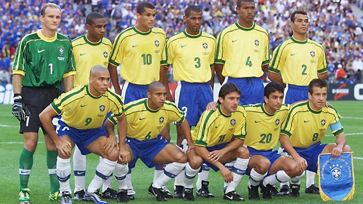 kesebelasan utama brazil pada piala dunia 1998