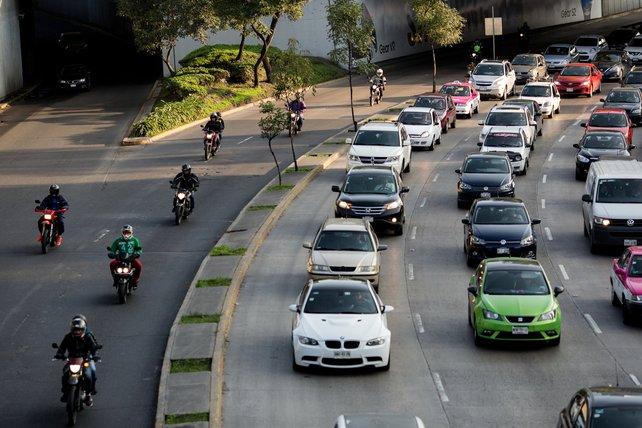 kesesakan trafik di mexico
