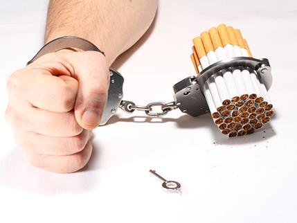 ketagih rokok