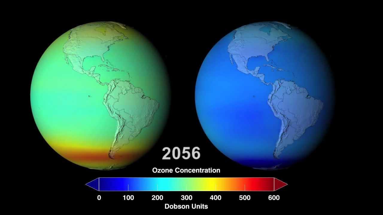 ketiadaan lapisan ozon bumi