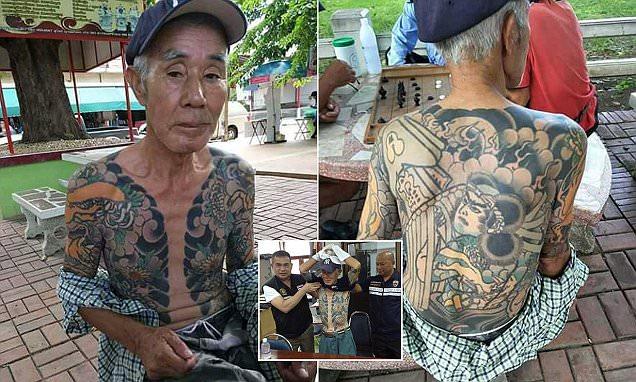 ketua yakuza ditahan di thailand