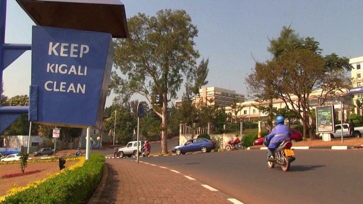 kigali bandar bersih