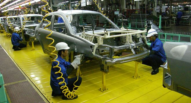 kilang proton tanpa pekerja