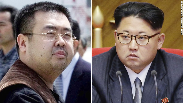 kim jong nam adik tiri kepada kim jong un