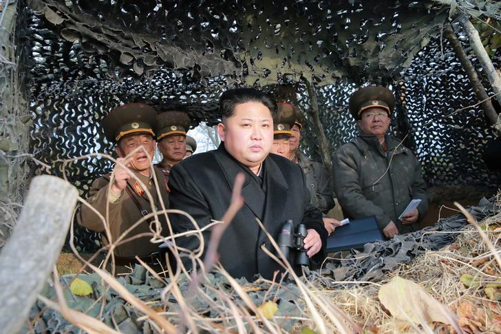 kim jong un memeriksa sempadan di korea utara untuk menyekat pergerakan rakyat daripada menyeberang ke china