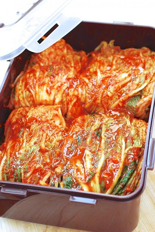 kimchi bekas kedap udara resepi senang