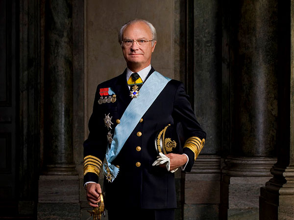 king carl xvi of sweden
