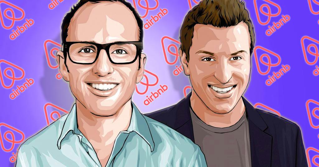 kisah pengasas airbnb brian chesky dan joe gebbia
