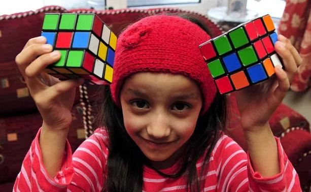 kiub rubik anak anak pintar genius