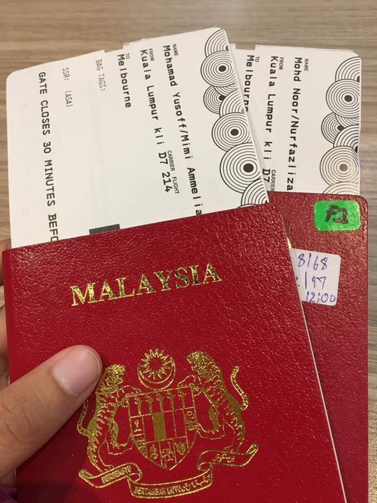 kl ke melbourne boarding pass travel tips