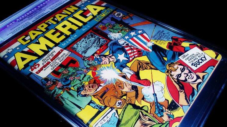 komik captain america yang popular ketika perang dunia ke 2 ww2
