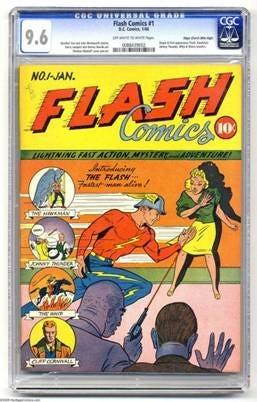 komik flash yang pertama di dunia