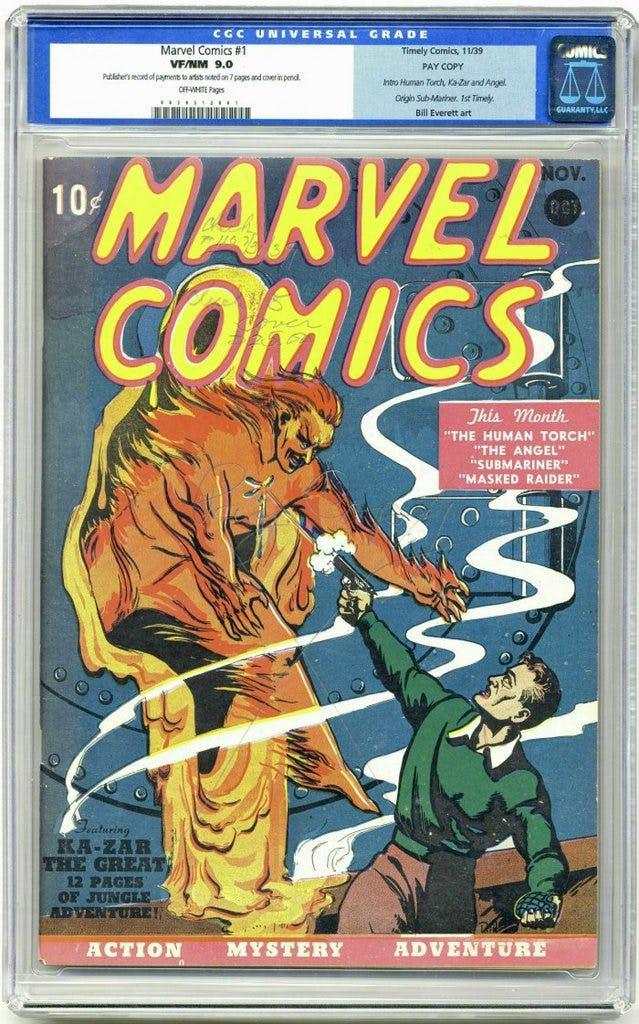 komik marvel comis edisi pertama