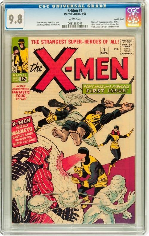 komik the x men keluaran marvel yang pertama