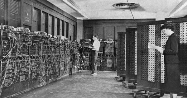 komputer dengan tujuan am pertama di dunia eniac
