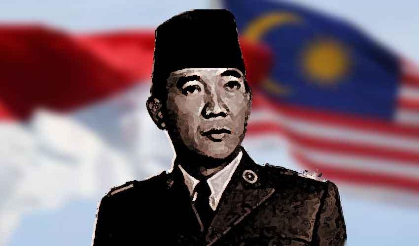 konfrontasi indonesia sukarno
