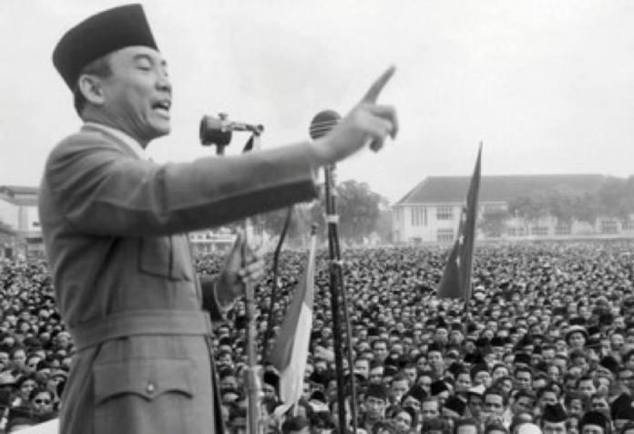 konfrontasi malaysia ucapan sukarno