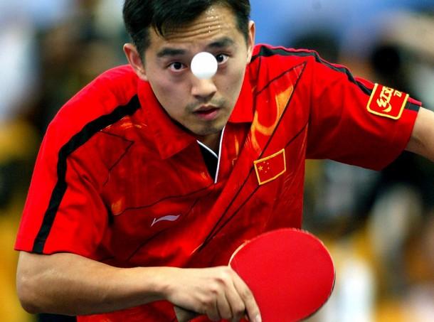 kong linghui pemain ping pong paling power di dunia