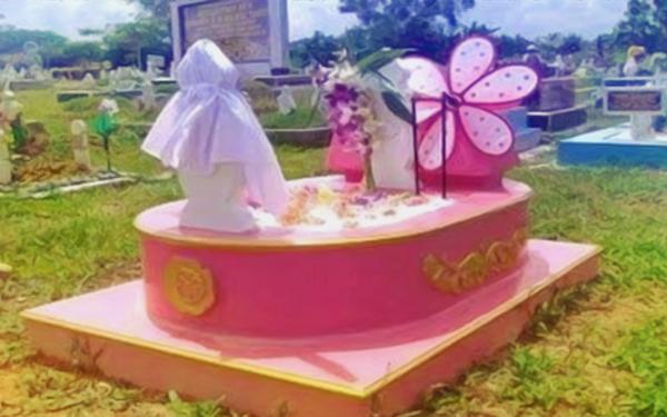 kontroversi kubur pink