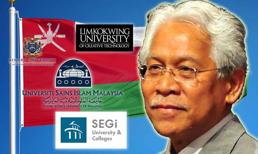 kontroversi oman malaysia usim binary luct limkokwing segi larangan