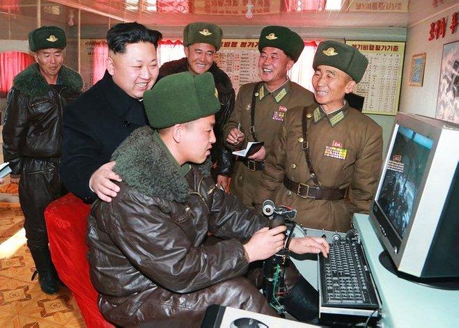 korea utara komputer internet laman web kim jong un