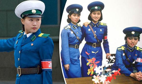korea utara polis trafik paling cantik di dunia