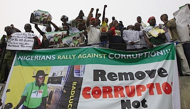 korupsi teruk oleh kerajaan nigeria