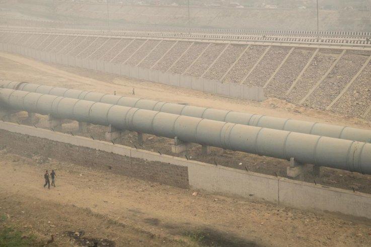 kualiti udara di new delhi