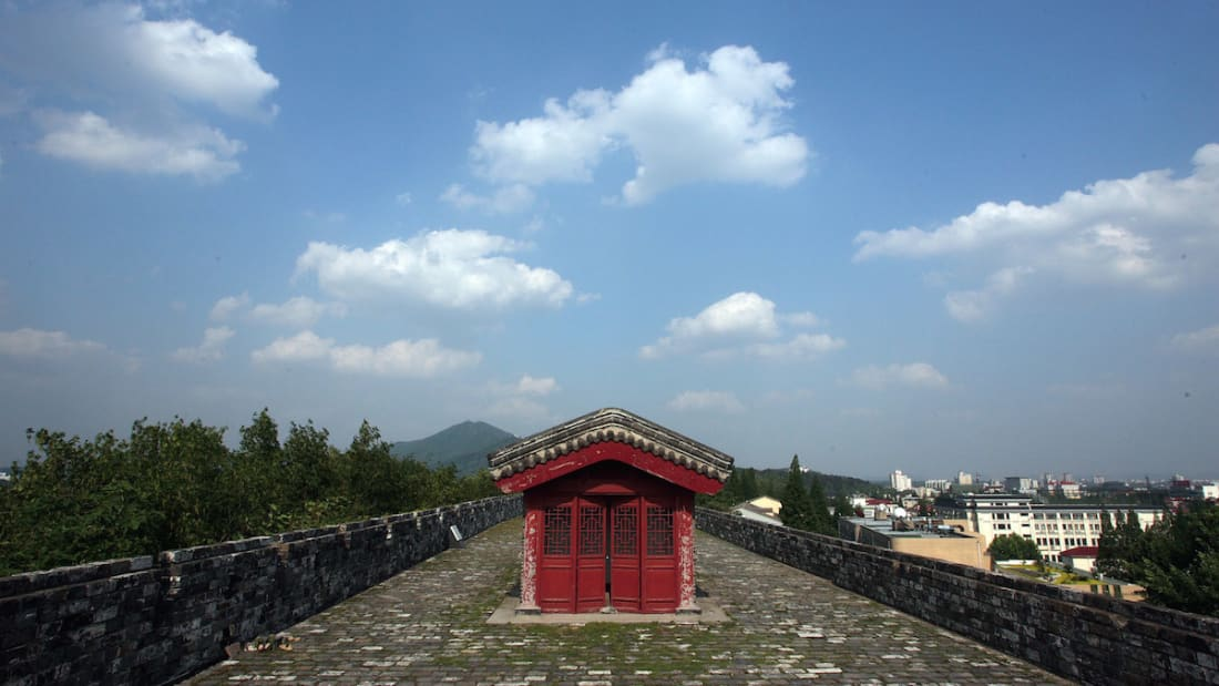 kubu tinggi tembok besar nanjing china