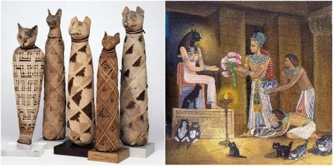 kucing dipuja oleh orang mesir kuno