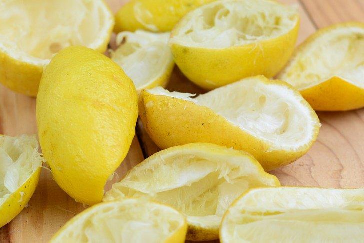 kulit buah sitrus seperti lemon dan oren boleh hilangkan bau asap rokok dalam kereta