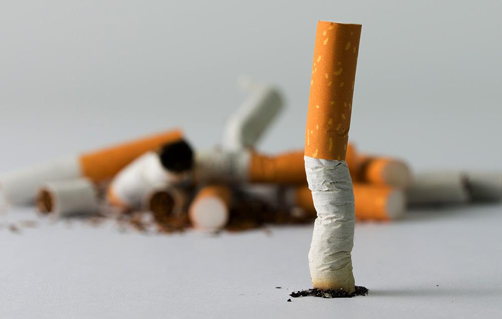 kurangkan atau berhenti merokok