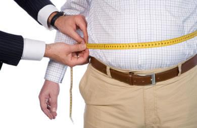 kurangkan berat badan dan ukur lilit pinggang