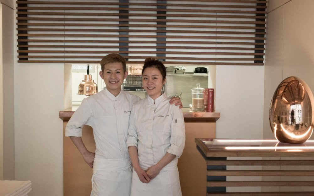 kwen liew chef wanita pertama malaysia bertaraf michelin