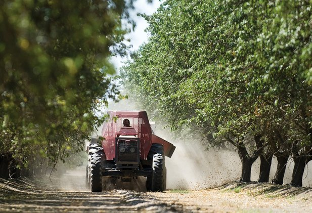 ladang stewart dan lynda resnick di california