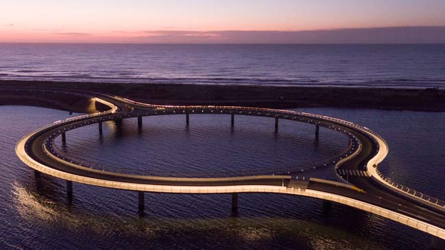 laguna garzon bridge jambatan paling pelik di dunia