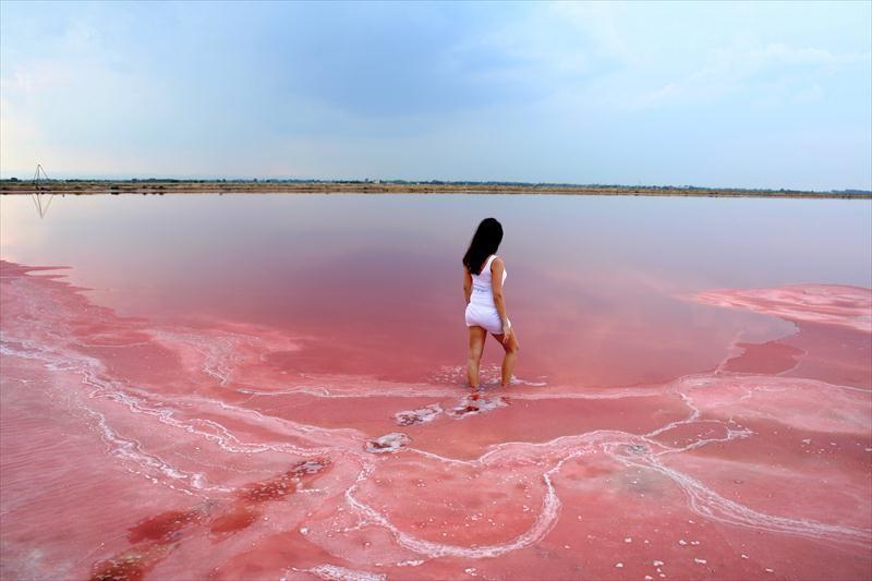 lake hillier tasik pink terkenal di australia