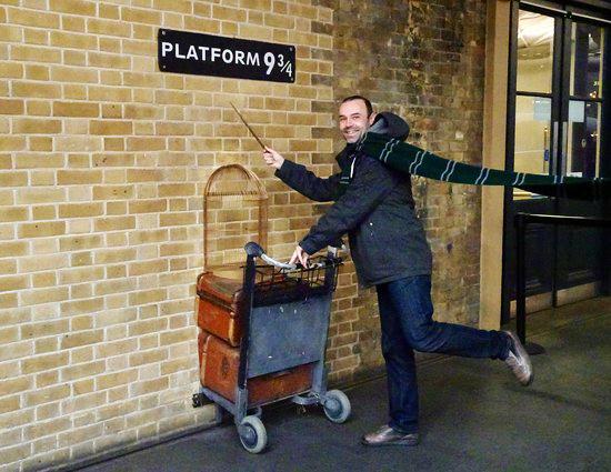 laluan harry potter untuk ke hogwarts