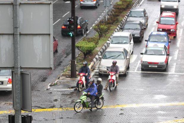 lampu isyarat motosikal