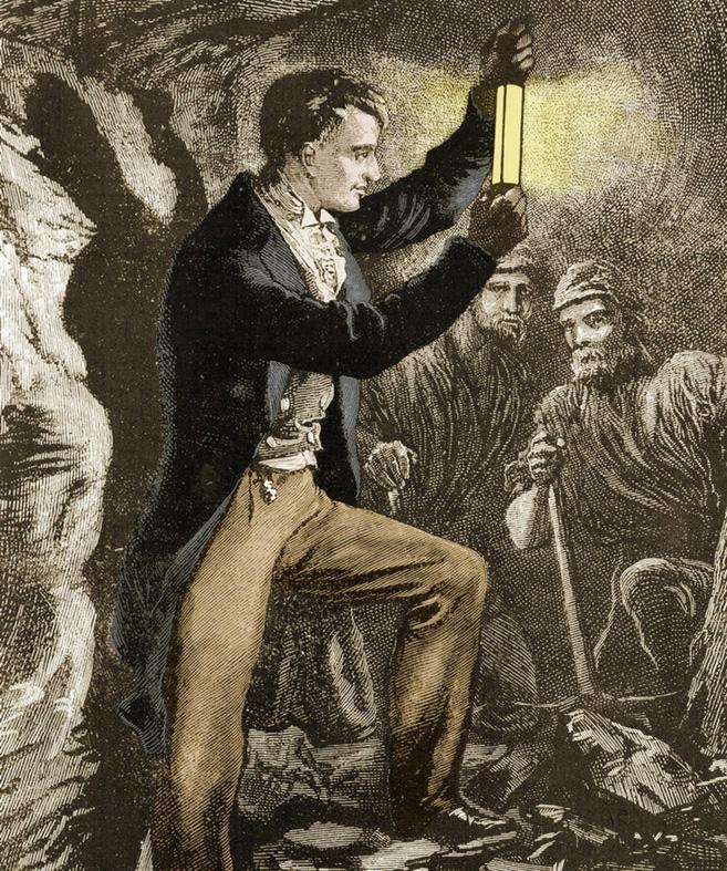lampu pertama ciptaan sir humphry davy