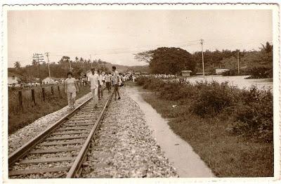 landasan keretapi di sg chua