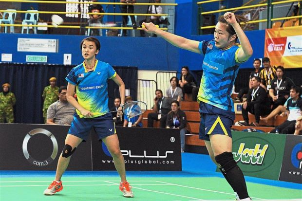 langkah malaysia terhenti di suku akhir kejohanan badminton berpasukan asia