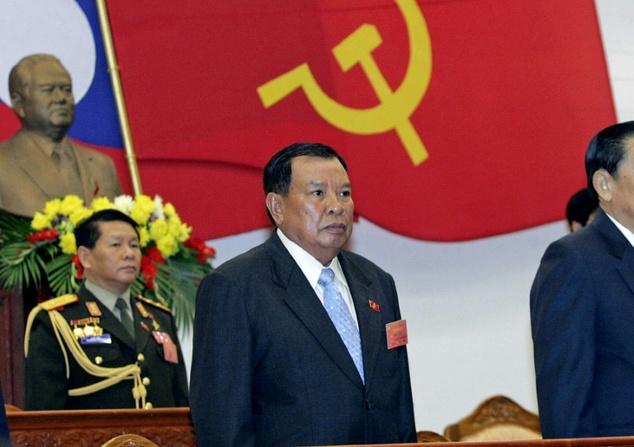 laos pemimpin komunis