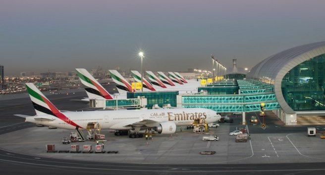 lapangan terbang antarabangsa dubai terminal 3 bangunan paling besar di dunia